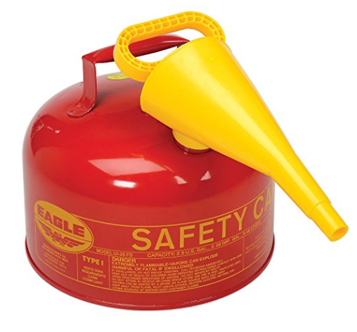 Metal Safety Can for Gasoline